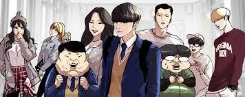 komik webtoon populer genre aksi lookism