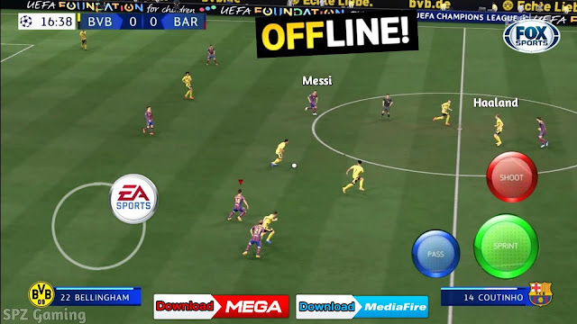 FTS 21 MOD FIFA 21 Android Offline 300MB Best Graphics New Menu Faces Kits 2021 & Transfers Update