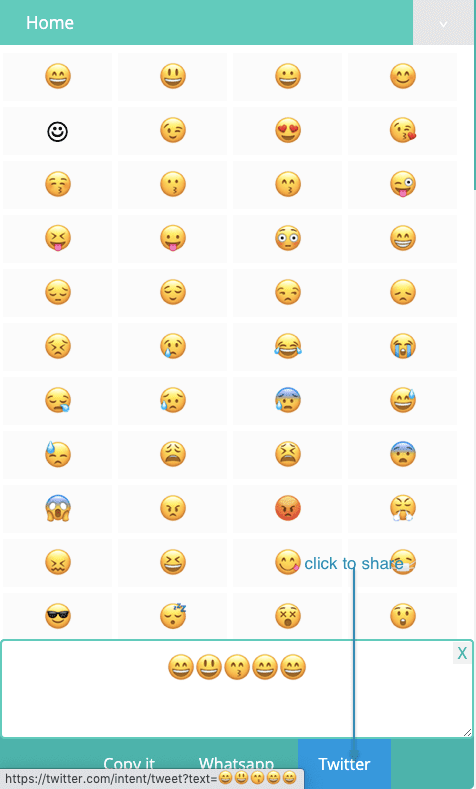 How to Share Smiley Emojis On Twitter?
