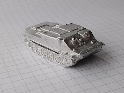 BTR-50 Personnel Carrier