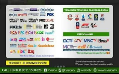 Frekuensi KVision Sekarang Ada Di TP Telkom 4