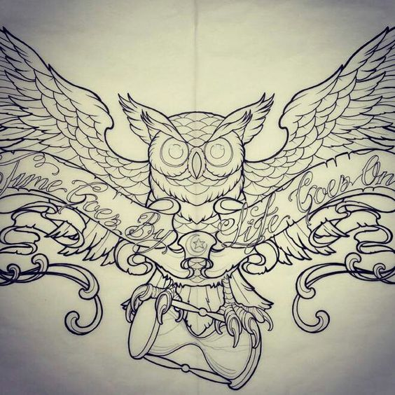 amazing owl tattoo designs