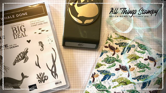 Whale of a Time Stampin Up Allthingsstampy Helen Read