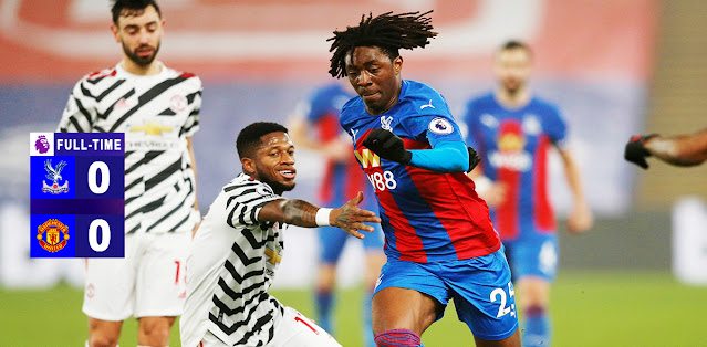 Crystal Palace vs Manchester United Highlights