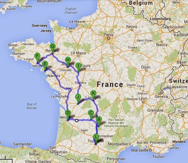 Where is Southwest France? (with map) |Southwest France Map