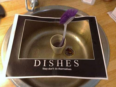 Dishes they don't do themselves