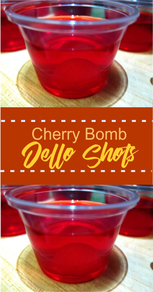 Cherry Bomb Jello Shots