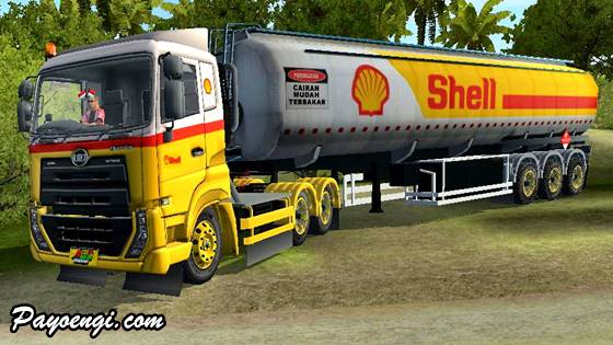 livery ud quester trailer tangki shell