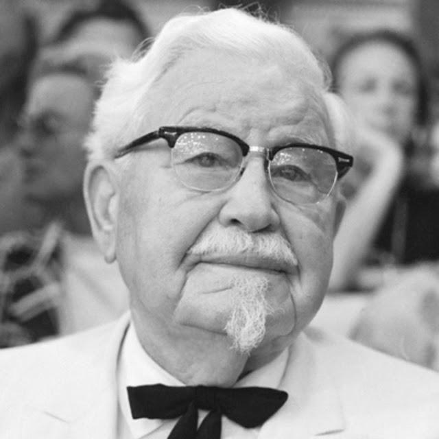 Inilah Kisah Kolonel Sanders Dibalik Kesuksesan Kentucky Fried Chicken