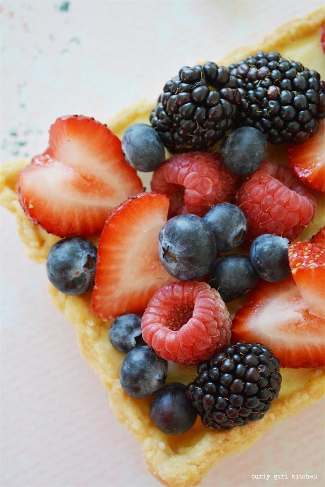Berries and Custard Tart, Berry Tart, French Berry Tart, Pastry Cream Recipe, Butter Pastry Crust, Butter Pie Crust, Vanilla Bean Custard, Blind Baking Pie Crust, Food Styling, Food Photography