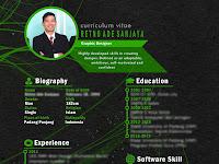 download cv menarik yang bisa di edit kembali - Contoh CV (Daftar Riwayat Hidup) Terbaru 2020