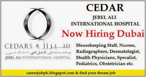 Jobs in Cedars Jebel Ali International Hospital Dubai