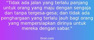 Kata Kata Mutiara Sabar
