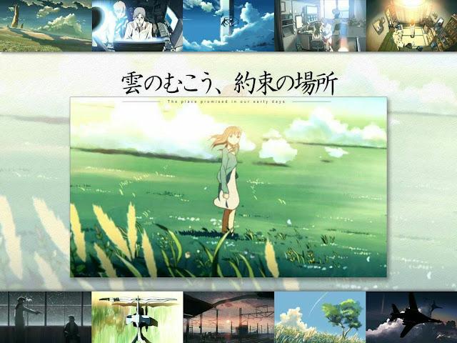Kumo No Mukou,Yakusoku No Basho di Rekomendasi Anime Romance - Drama Terbaik