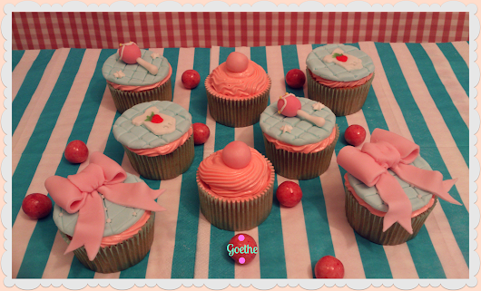 Cupcakes sabor a Chicle (y ¡¡he vuelto!!)