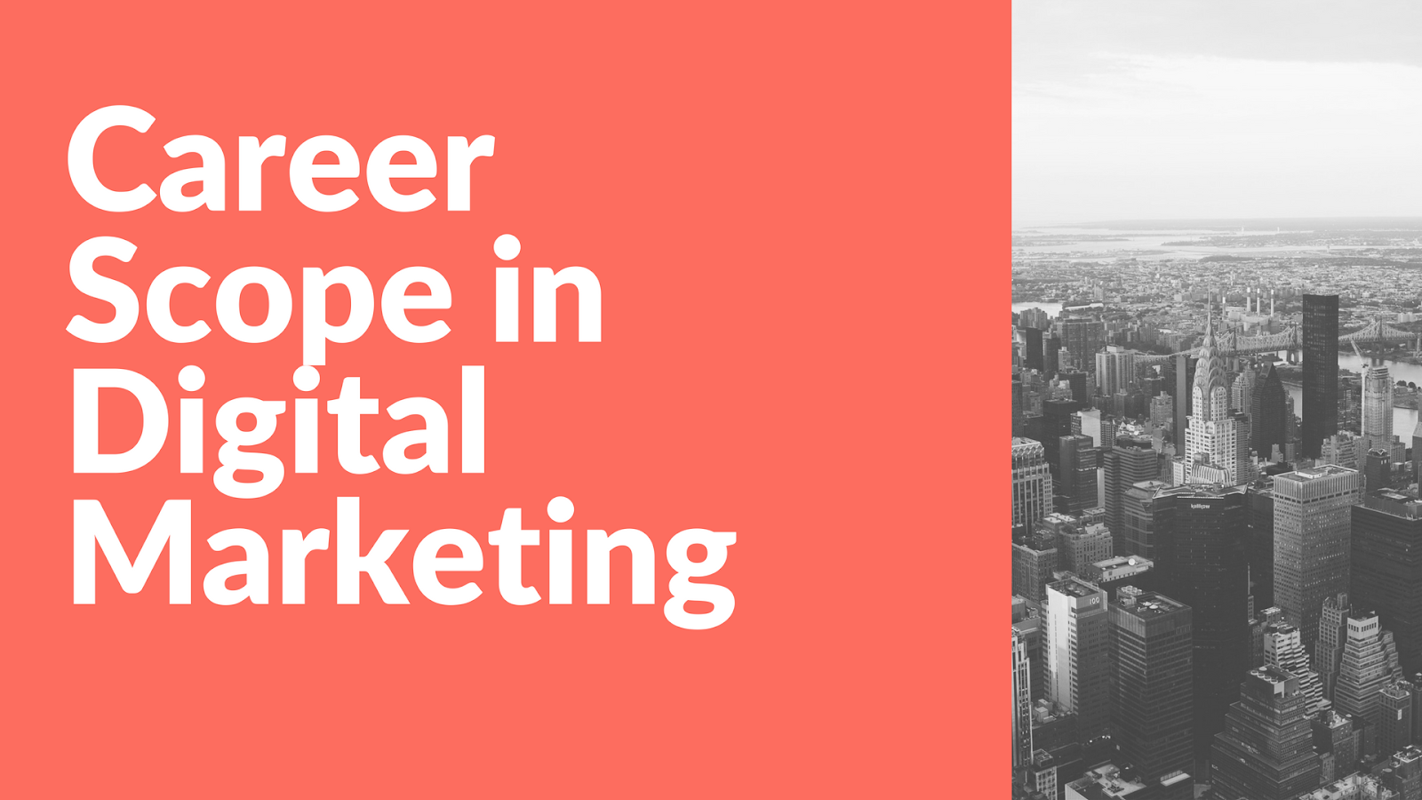 Career Scope in Digital Marketing