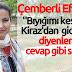 """Başkan Saliha Özçınar'dan """"Bıyığımı Keserim"""" diyenlere selam"""