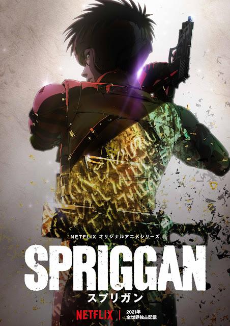 Plakat anime Spriggan