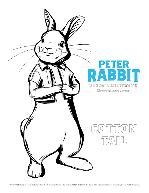 free printable peter rabbit coloring pages - peter rabbit screening win reserved seats at ua king of
