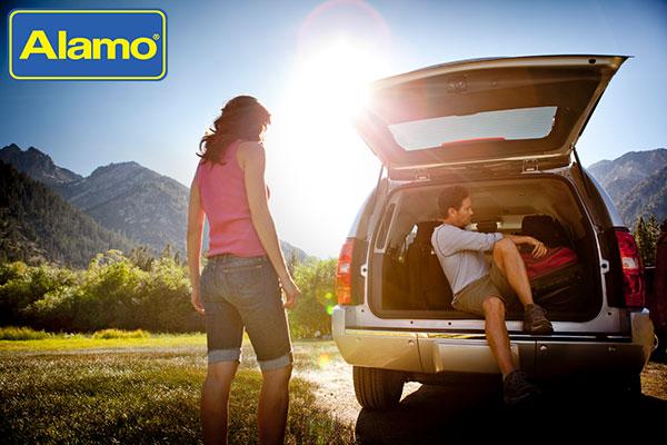 Checking out the Alamo car rental 2020
