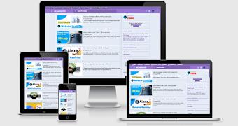 MR Laboratory responsive premium blogger template