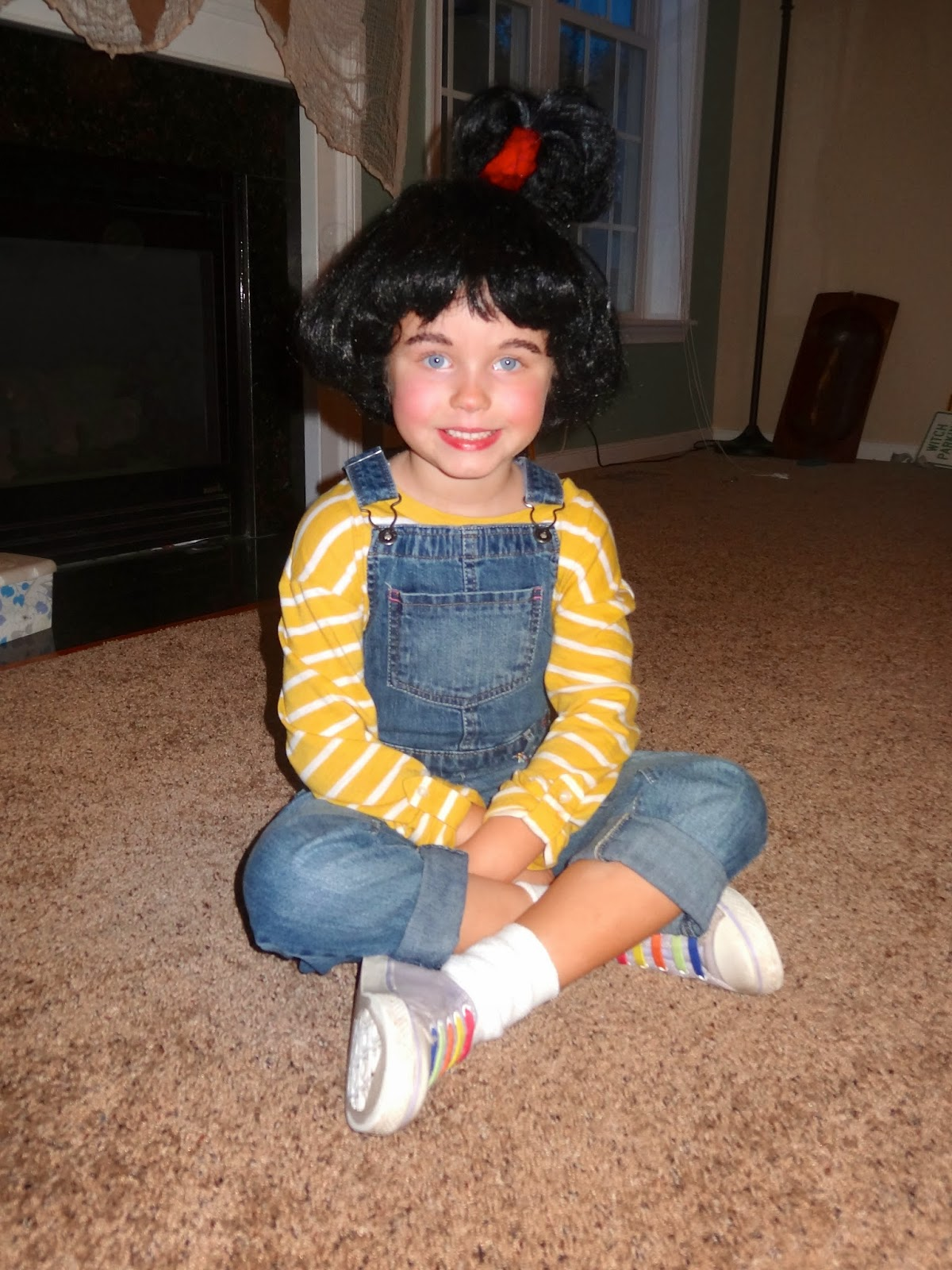 Easy Up Do On Stretched Natural Hair: Welcome To The Krazy Kingdom: Book Character Day