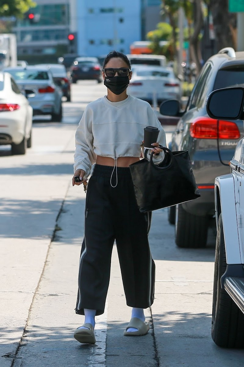 Cara Santana Out for Coffee in West Hollywood 1 sep -2020