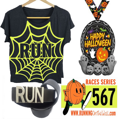 halloween 5k races - fun virtual races