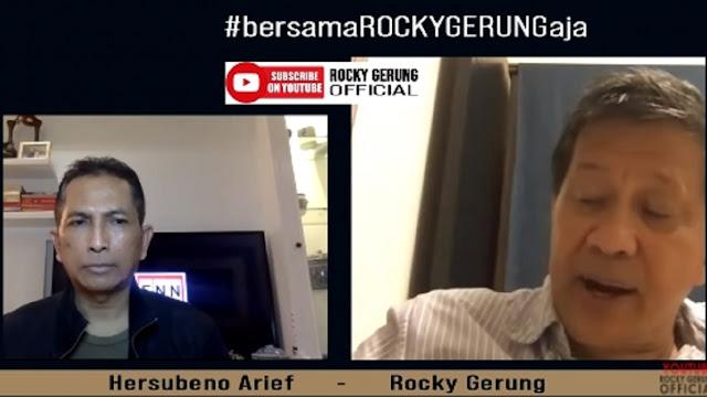 Soal Penggrebekan Rumah Mahfud, Rocky Gerung: Kalau Bisa di Solo Juga, di Rumah Jokowi