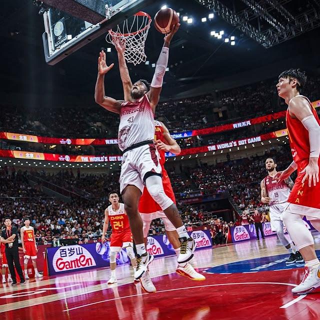 BALONCESTO: Vinotinto derrotó a la anfitriona China y pasó a la segunda ronda en mundial 2019.