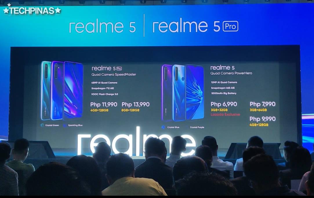 Realme 5 Price Philippines, Realme 5 Pro Price Philippines, Realme 5, Realme 5 Pro