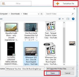 cara convert file audio video offline menggunakan format factory - tambahkan file convert