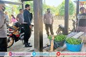 Kapolsek Cendana Bersama Personil Sampaikan Himbauan PPKM Berskala Mikro