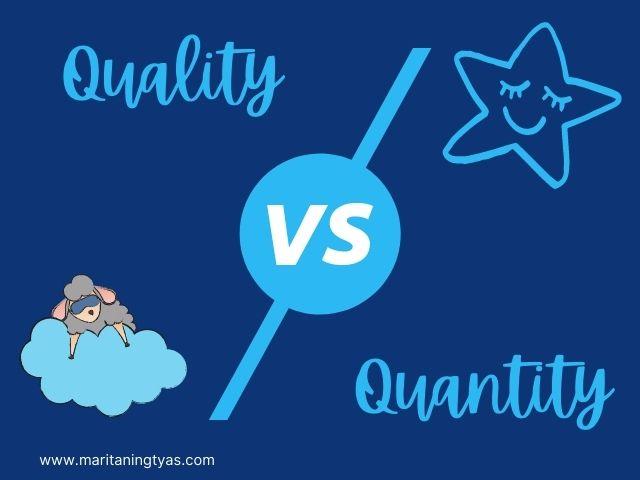 kualitas vs kuantitas tidur untuk kesehatan