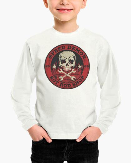 Camisetas Niño - Diseño Speed Demon