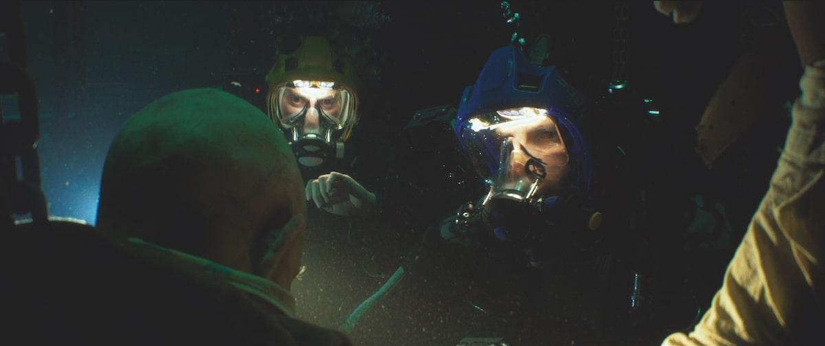 Первые кадры подводного хоррора The Deep House про блогеров и маньяка - 22