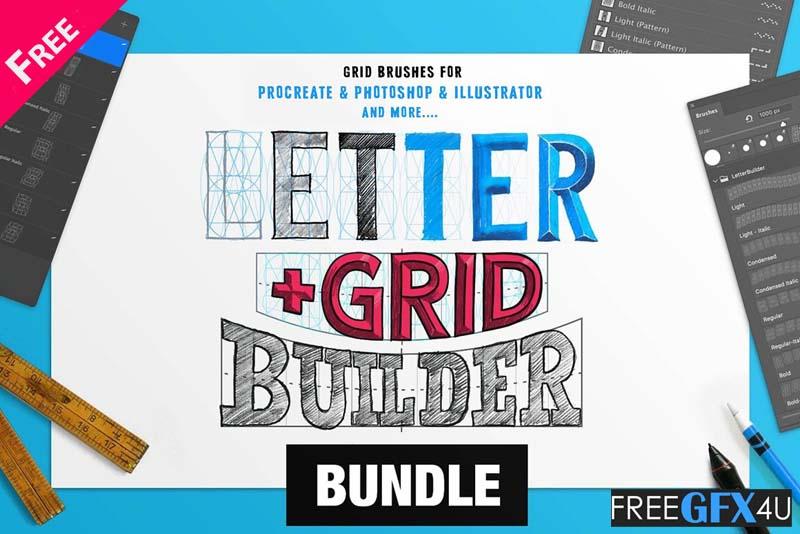 The Builder Bundle Text Build Different Effects