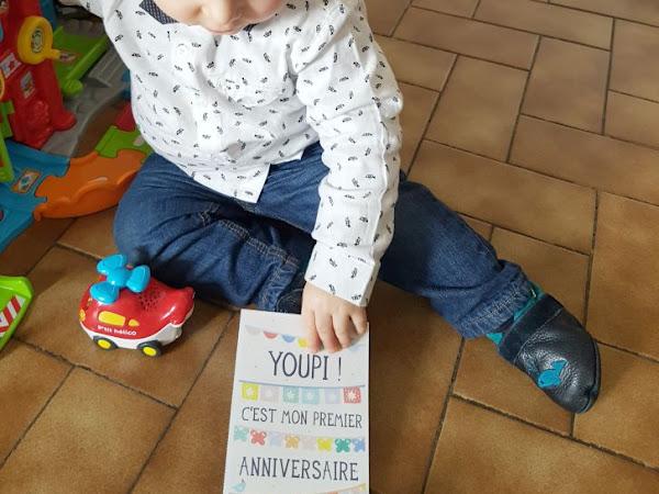 Le premier anniversaire de Louis