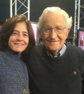 Valeria Wasserman and noam chomsky age, wiki, biography