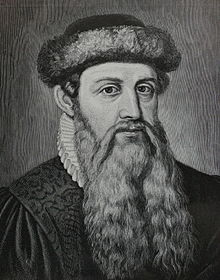 Johannes Guttenberg dari Jerman