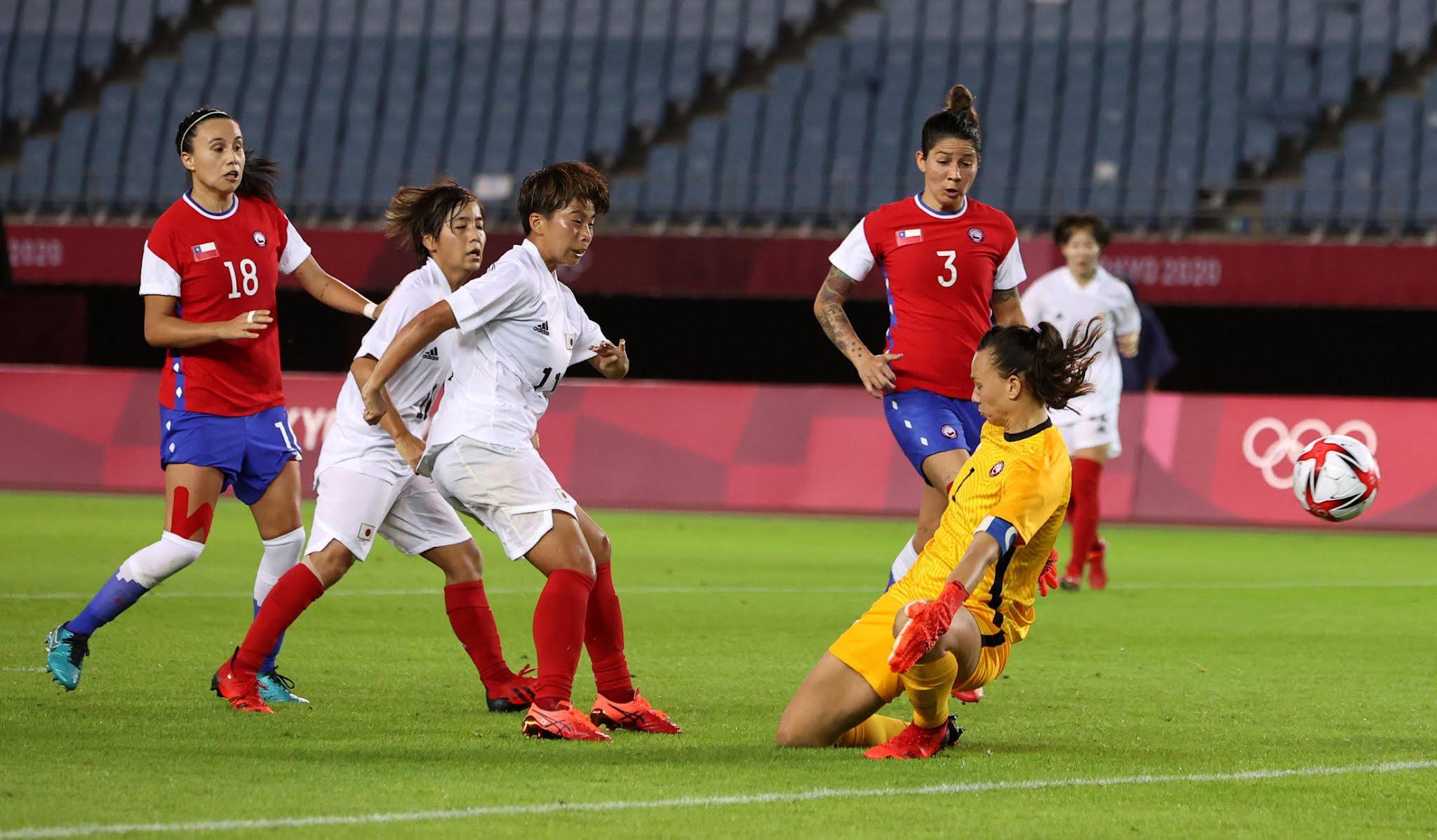 Chile y Japón en Juegos Olímpicos de Tokio 2020, 27 de julio de 2021