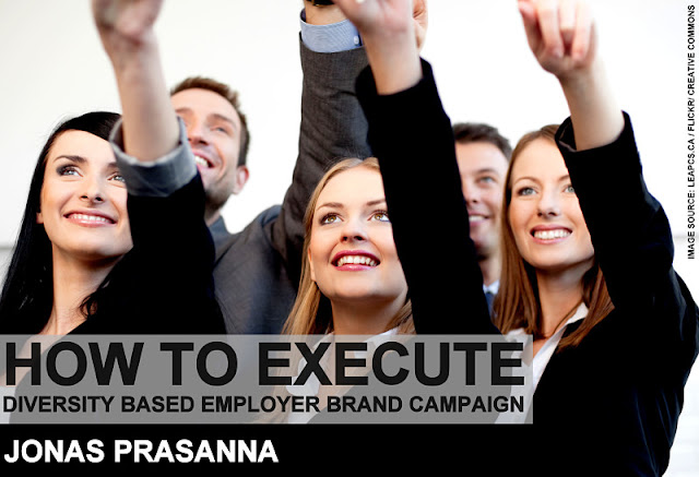 B&E | How to Execute Diversity Based Employer Brand Campaign