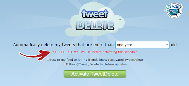 شرح كيفية حذف جميع التغريدات في حساب تويتر بنقرة زر واحدة