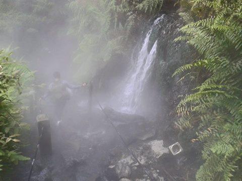 Sumber Air Panas Cibodas Gede Pangrango