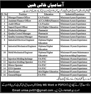 Jobs Government of KPK May (2020)