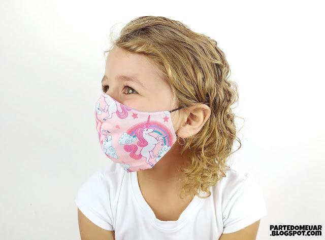 Molde mascara infantil