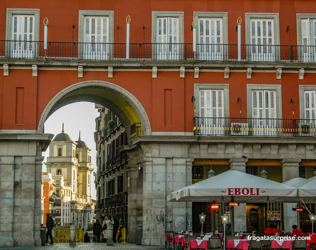 Bar na Plaza Mayor, Madri