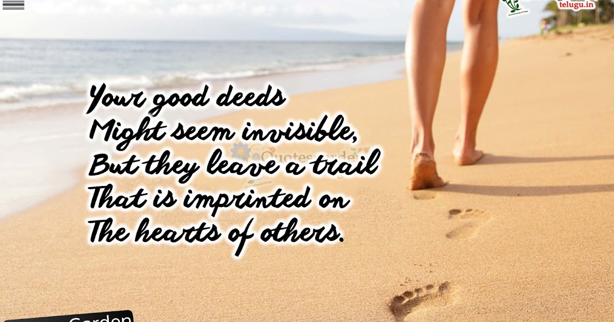 Heart Touching Quotes About Good Deeds