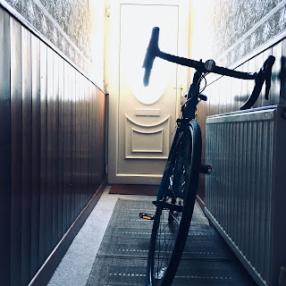 Picture of Bike in Hallway