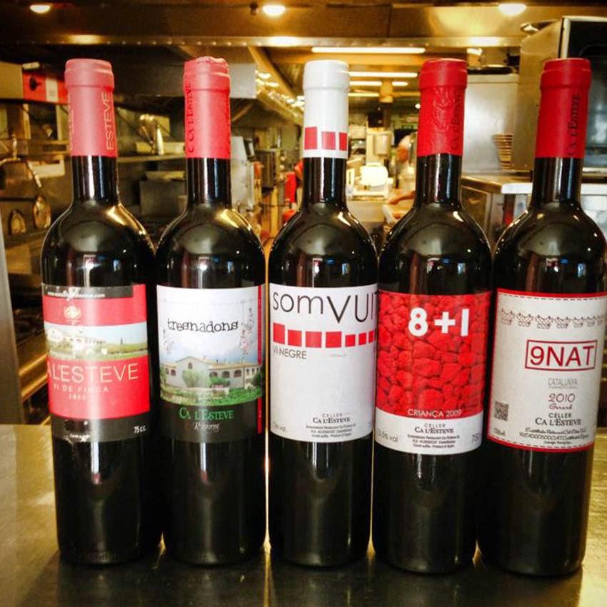 Restaurantes con  MJ CA LESTEVE  Castellbisbal